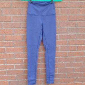Zella Purple High Waist Ankle Workout Leggings XXS